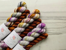 Load image into Gallery viewer, Blueberry Waffle  Half skein set- Fingering