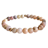 Peruvian Pink Opal Tranquility Layering Bracelet