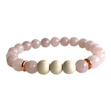 Rose Quartz Self-Love Aromatherapy Bracelet