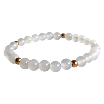 Agate Protection Layering Bracelet