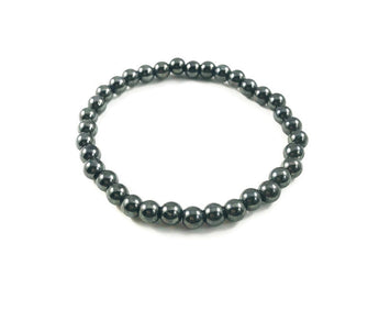 Hematite Grounded Layering Bracelet