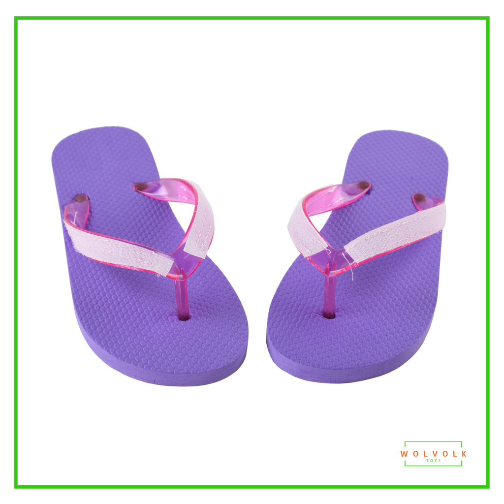 Wolvolk Do-It-Yourself Girls Flip Flops