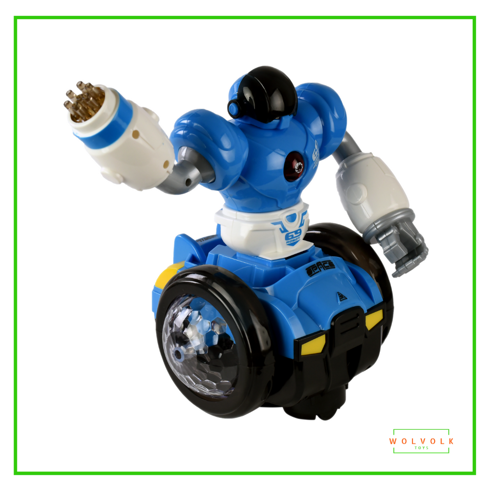 Wolvolk Bump and Go Robot Toy