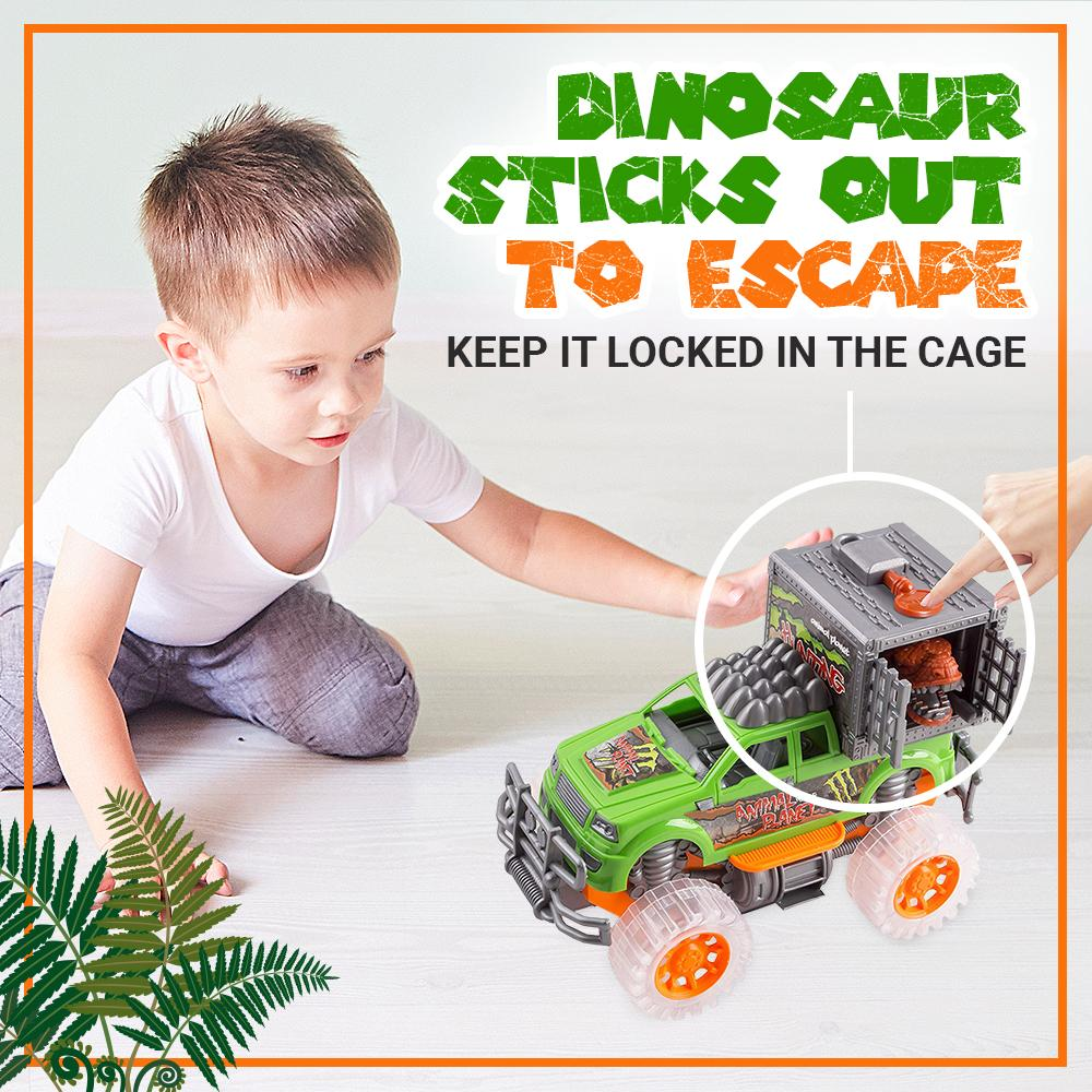 Wolvolk Off-Road SUV Jungle Dinosaur Car