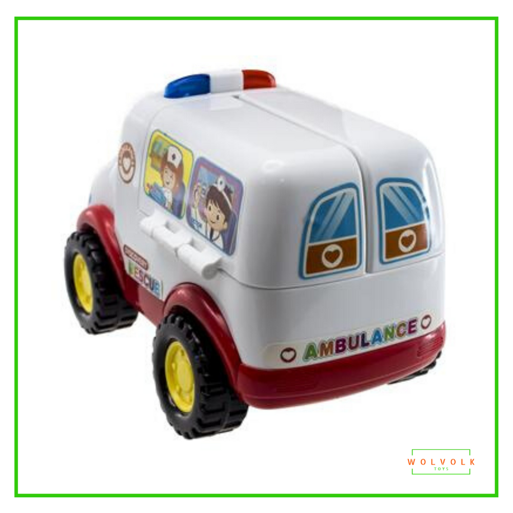 Wolvolk Ambulance Activity Toy