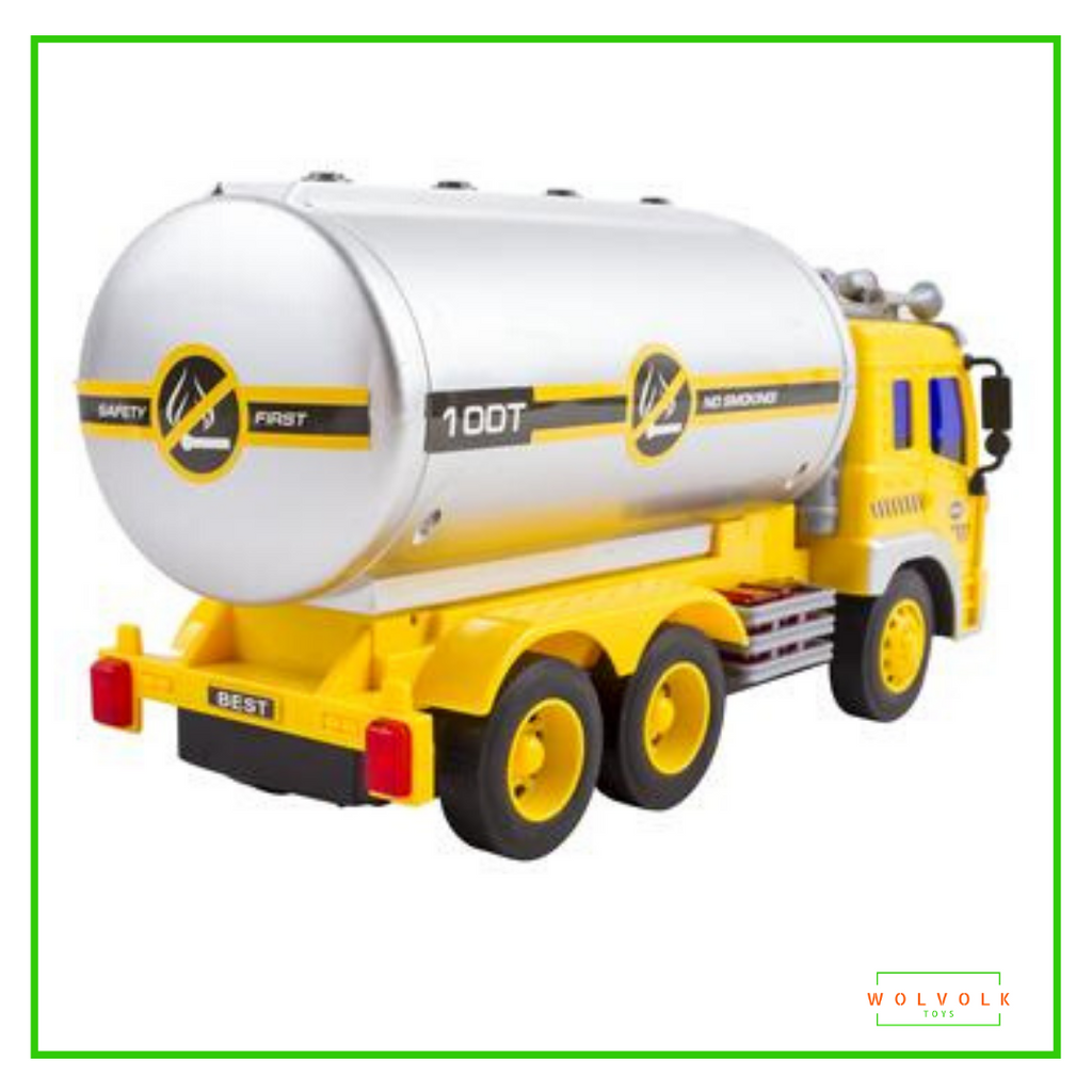 Wolvolk Friction Powered Oil Tanker Truck