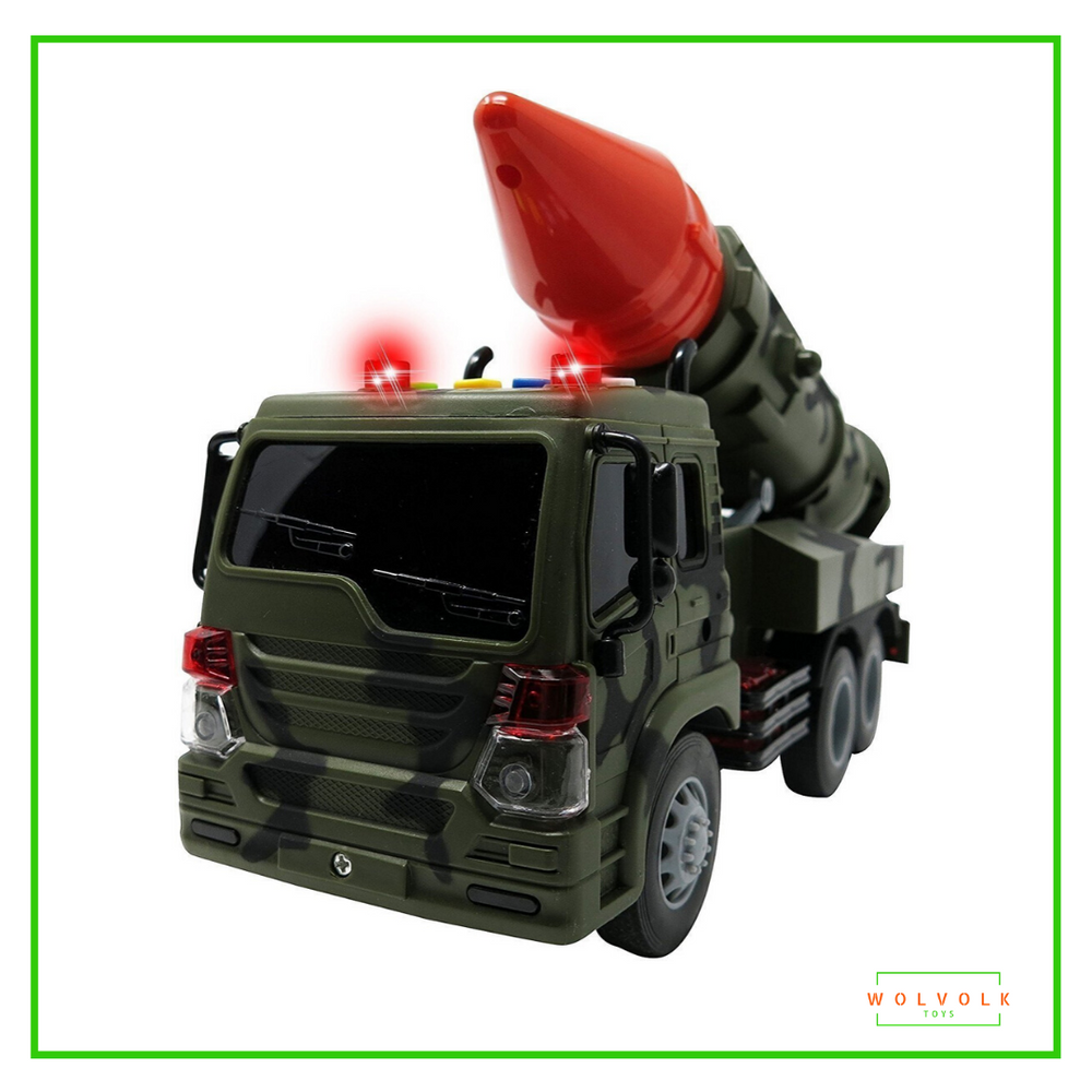 Wolvolk Military Truck Rocket Launcher