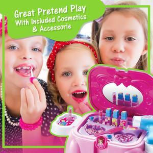 Wolvolk Take Along  Salon Vanity Playset