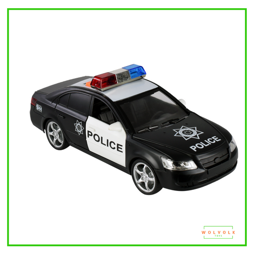 Wolvolk Friction Powered Police Car
