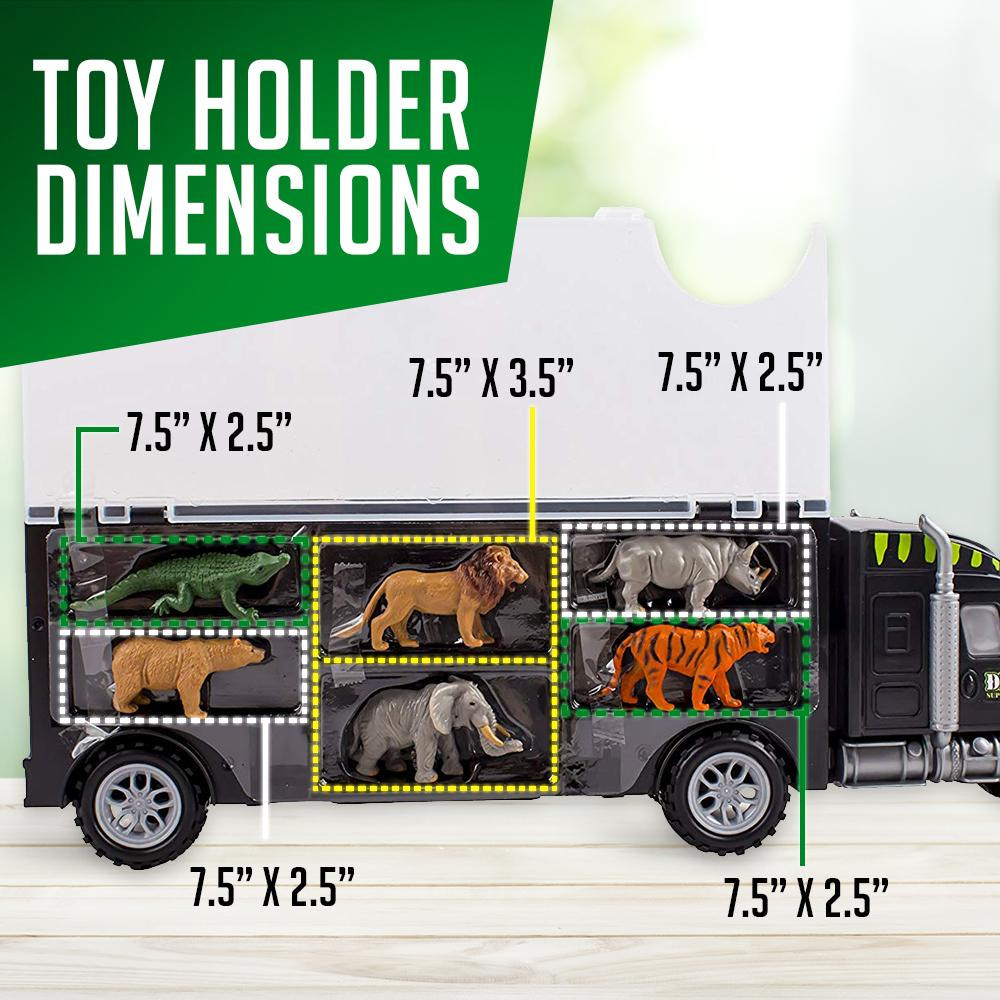 Wolvolk Wild Animals Carrier Truck