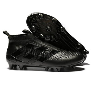 07409ea670b Adidas ACE 16+ Purecontrol FG AG Soccer Cleats All Black - JungleBoots