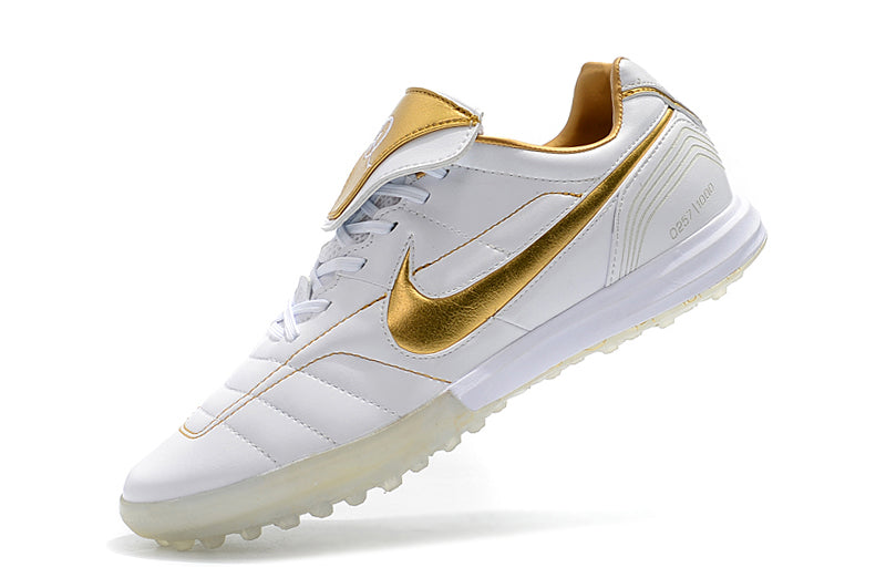 the latest d0e0d d31c4 Nike Tiempo Legend VII 7 R10 Elite TF White Gold