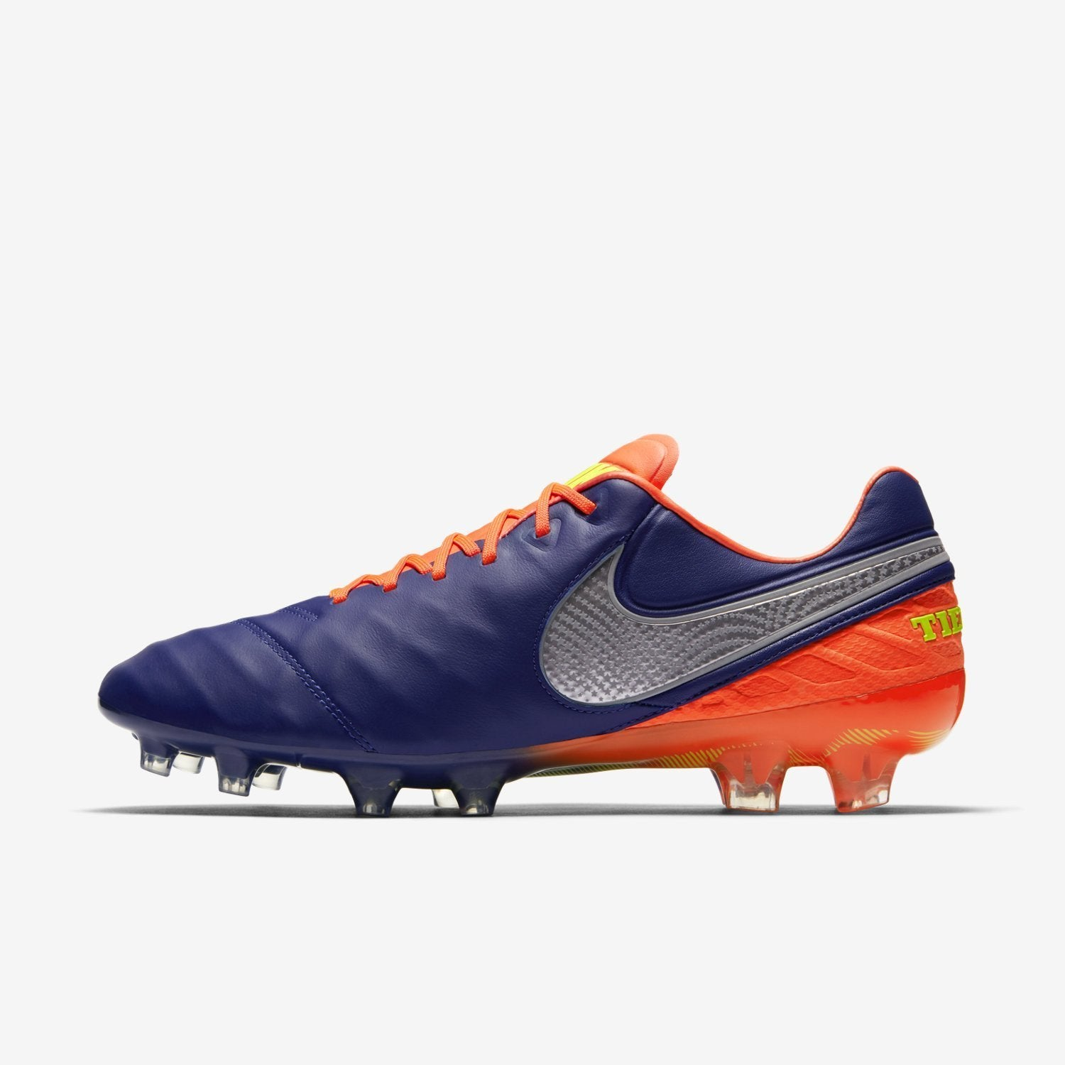 watch 8f15e 8f0f4 Nike Tiempo Legend VI FG Soccer Cleats Deep Royal Blue Total Crimson