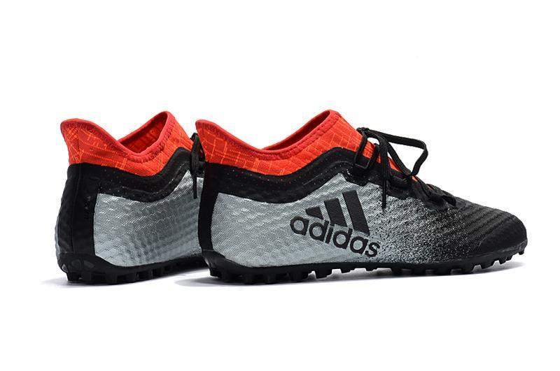 uk availability c9164 228d0 Adidas X Tango 16.1 Turf Soccer Cleats Grey Black Solar Red