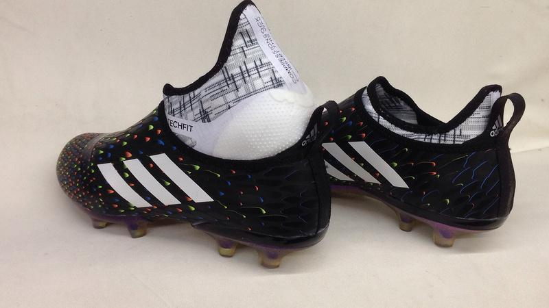f0d166a137b ... Adidas Glitch Skin 17 FG Soccer Shoes Core Black Solar Red White -  JungleBoots ...