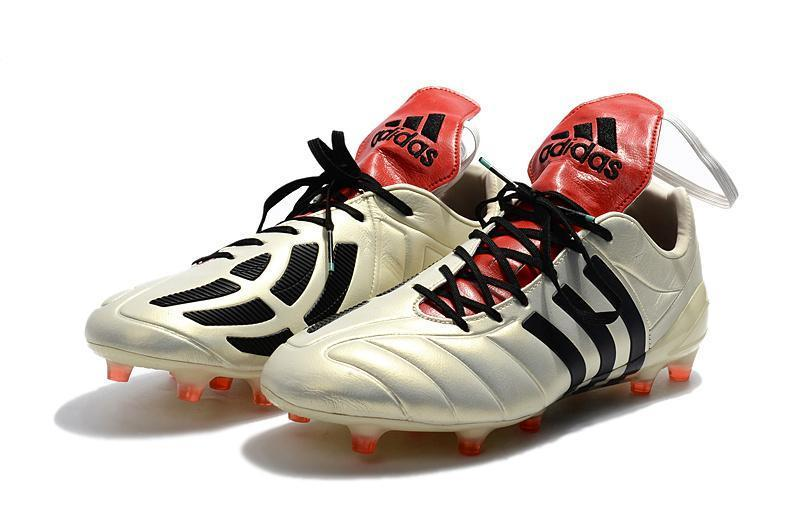 prix le plus bas 84f14 5fb4e Adidas Predator Mania Champagne FG Soccer Cleats Off White Black Red