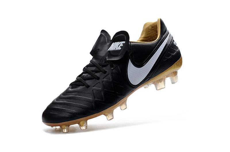 promo code 8fda3 30de2 ... Nike Tiempo Legend VI FG Soccer Cleats Black White Metallic Gold -  JungleBoots ...