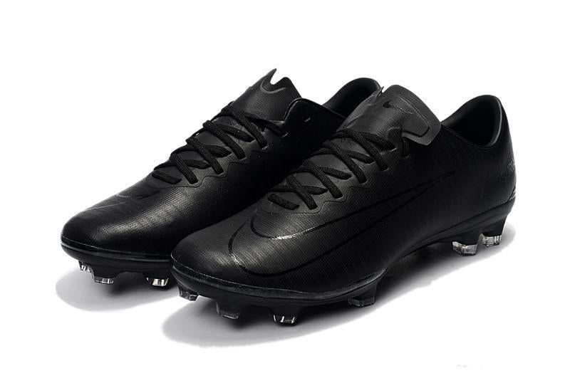 cute cheap best choice recognized brands Nike Mercurial Vapor XI FG Soccer Cleats Blackout Black