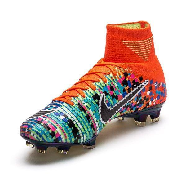 newest collection 41c9d e8fba Nike Mercurial Superfly V EA Sport FG Soccer Cleats Orange Colorful