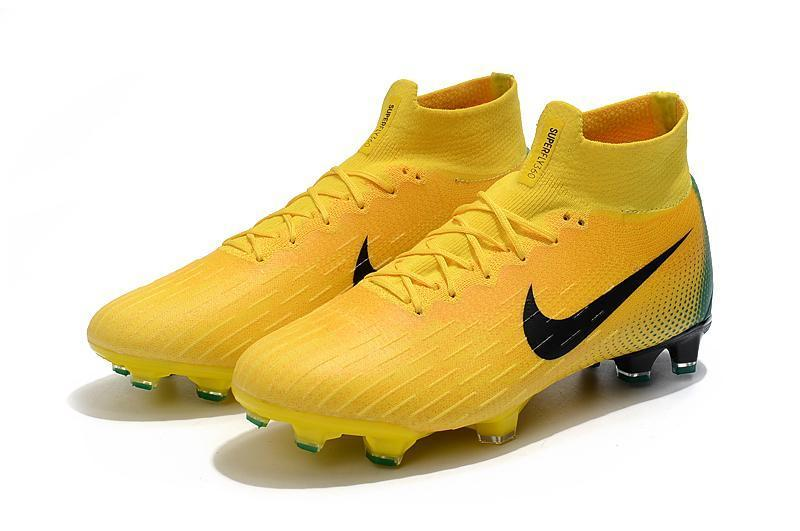 low priced 7e254 554a1 Nike Mercurial Superfly VI 360 Elite FG Soccer Cleats Yellow Green
