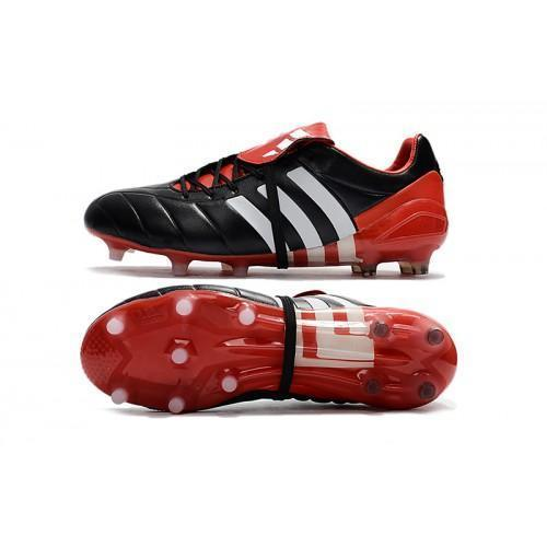 186abacdd59d91 Adidas Predator Mania Champagne FG Soccer Cleats Core Black Red White -  JungleBoots