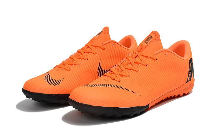 08926786 Nike Mercurial VaporX XII Academy Turf Soccer Cleats Orange Black -  JungleBoots ...