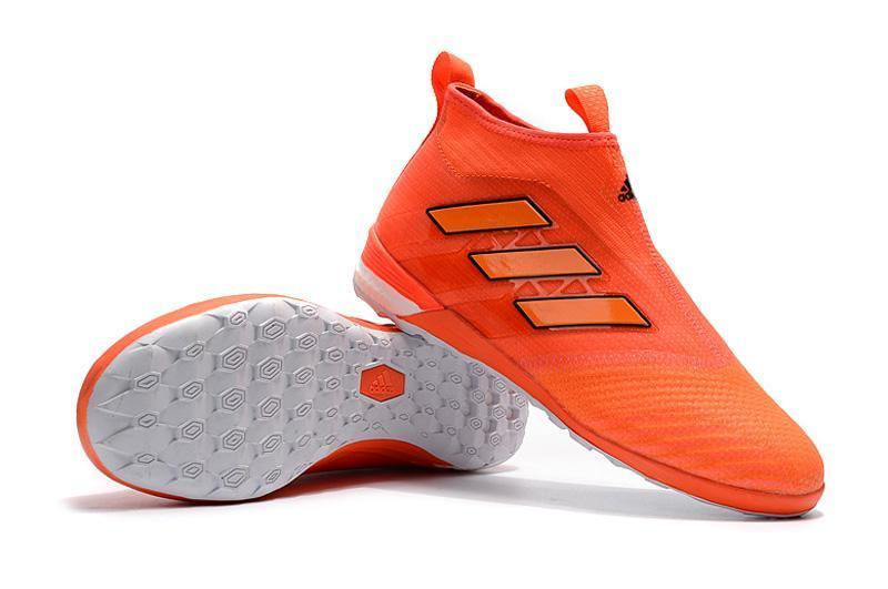 super popular 3e721 6289b Adidas ACE Tango 17+ Purecontrol IC Soccer Cleats Red Orange Black