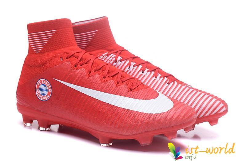 timeless design 05440 16503 Nike Mercurial Superfly V Fc Bayern Munich Fg Cleats Red White