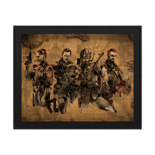 "Laden Sie das Bild in den Galerie-Viewer, Call of Duty Zombie Poster ""Aether Charaktere"" - veKtik"
