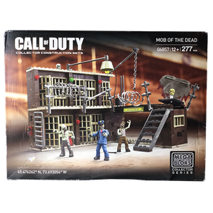 "Mega Bloks - ""Mob of the Dead"" Call of Duty Zombies (Beschädigte Verpackung) - veKtik"