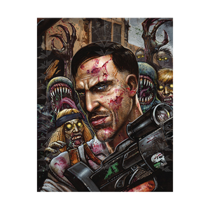 "Call of Duty Zombie Poster ""Richtofen"" - veKtik"