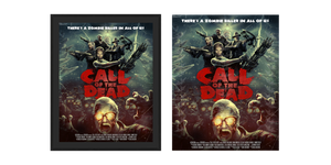 "Call of Duty Zombie Poster ""Call of the Dead"" - veKtik"