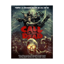 "Laden Sie das Bild in den Galerie-Viewer, Call of Duty Zombie Poster ""Call of the Dead"" - veKtik"