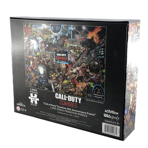 "Call of Duty Zombie Puzzle - ""10 Years Edition"" Call of Duty Zombies - veKtik"