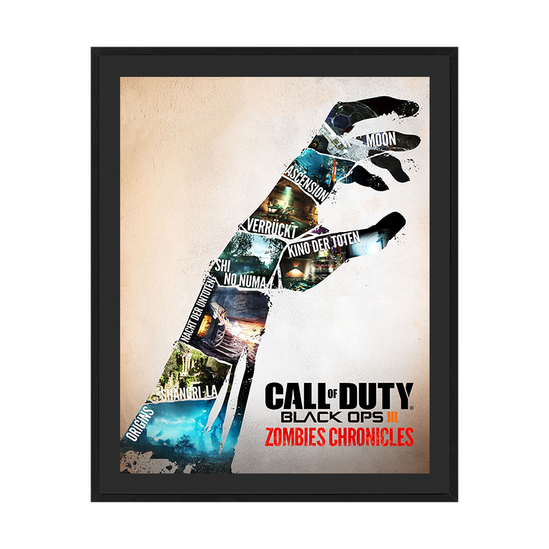 Call of Duty Zombie Poster