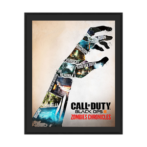 "Call of Duty Zombie Poster ""Zombie Chronicles"" - veKtik"