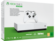 Laden Sie das Bild in den Galerie-Viewer, Xbox One S 1TB All-Digital Edition Bundle Spielkonsole - Weiss