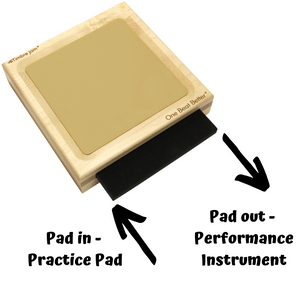 Timbre Jam - Percussion Instrument and Practice Pad