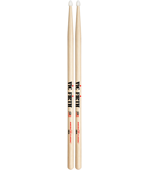 Vic Firth American Classic Hickory Drum Sticks  Nylon 5B