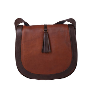 Acacia - Flapover Cross Body Bag