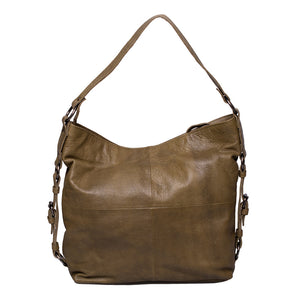 Curlew - Vertical Zip Hobo Bag