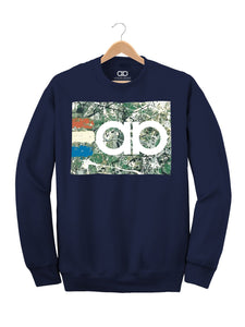Adored- Navy Sweater