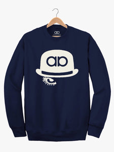 Ultra Casual - Navy Clockwork Sweater
