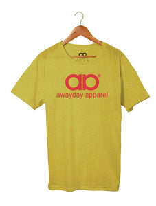 Awayday - Yellow - Red Logo
