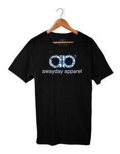 Kids Awayday - Black - Blue Camo print
