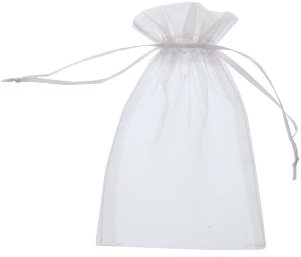 WHITE POUCH / DRAWSTRING BAG