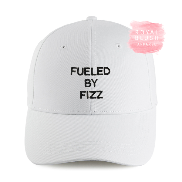 Fueled by Fizz Embroidered Cap - RoyalBlushApparel