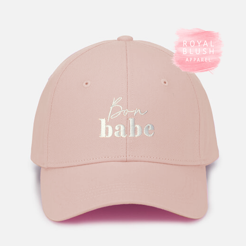 Bon Babe Embroidered Cap