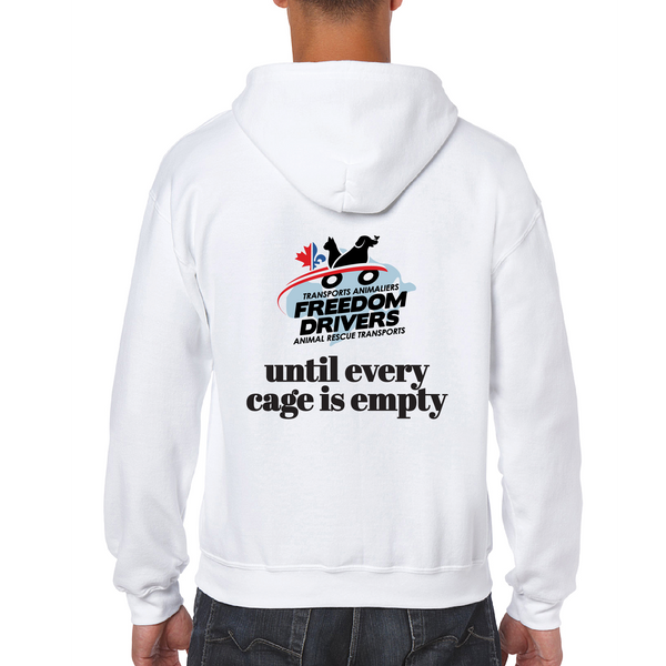 Until Every Cage is Empty Zip Up