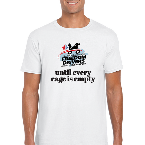 Until Every Cage is Empty Men's T-Shirt